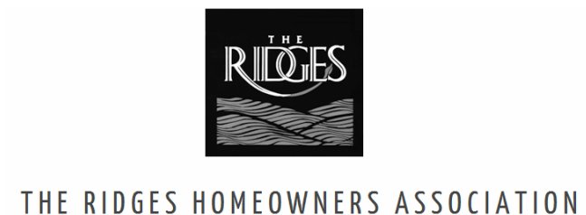 THE RIDGES HOMEOWNERS ASSOCIATION